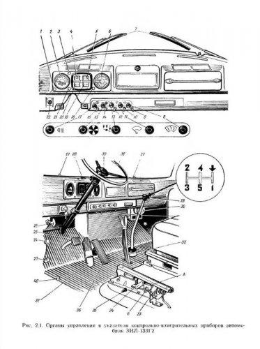 Автомобили семейства ЗиЛ-133. Устройство, техническое обслуживание и ремонт