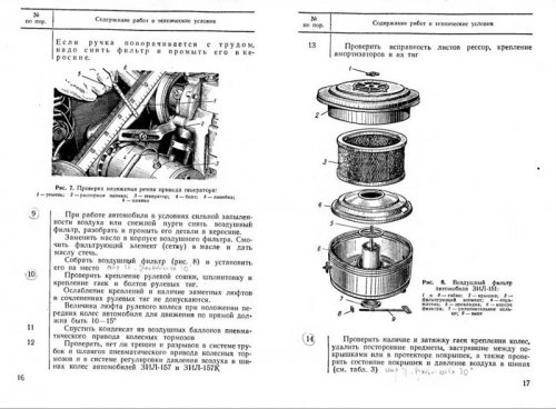 Техническое обслуживание автомобилей ЗиЛ-150, ЗиЛ-151, ЗиЛ-157, ЗиЛ-157К и ЗиЛ-164