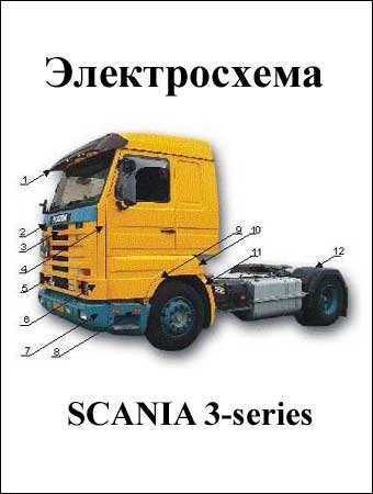 Electrical wiring diagrams for SCANIA 3-series