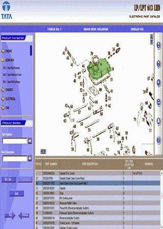 Схемы и каталог запчастей Tata LP 613 и Tata LPT 613