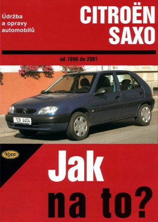 Service and repair manual for Citroen Saxo (1996-2001)