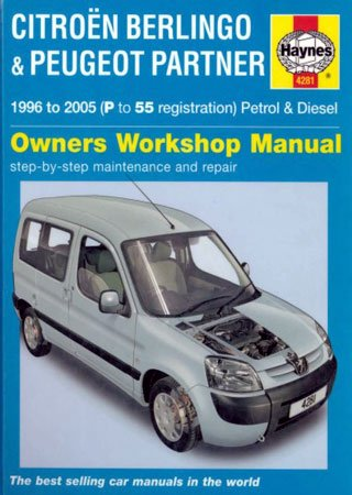 Service and repair manual for Citroen Berlingo and Peugeot Partner (1996-2005)