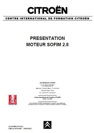 Дизельные двигатели Citroen SOFIM 2.8 D/TD/TDI/HDI