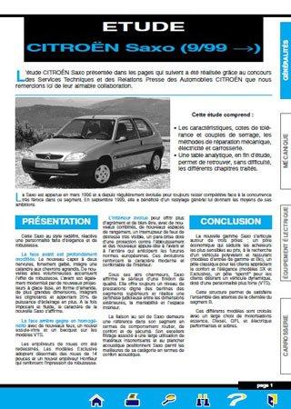 Instrukcja naprawy Citroen Saxo (9/99 - 2003)