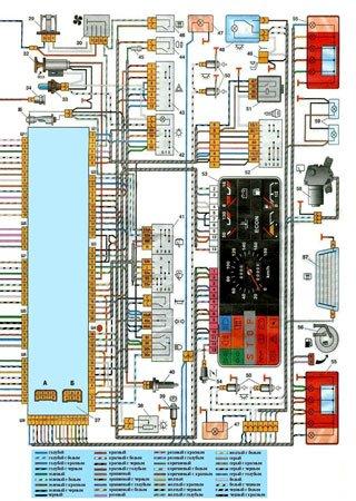Электросхемы ВАЗ-2109 «LADA Samara»