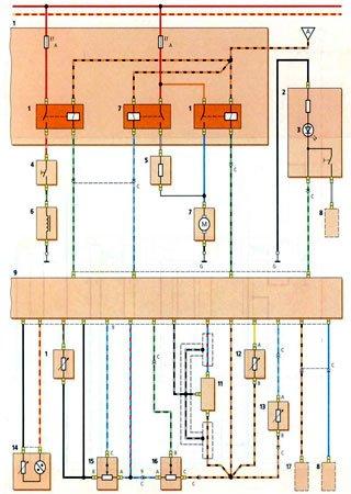 Schematy elektryczne Daewoo Matiz