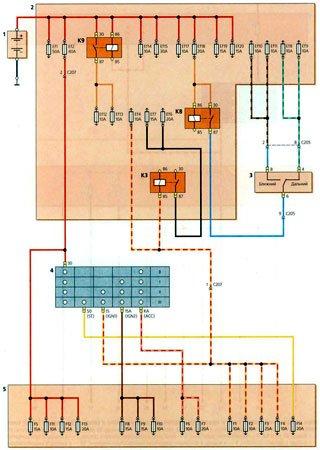 Schematy elektryczne Chevrolet Spark