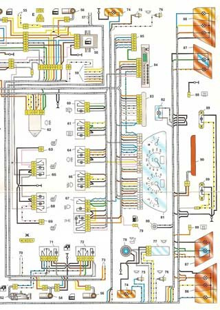 Electrical wiring diagrams for VAZ-2115 «LADA Samara 2»