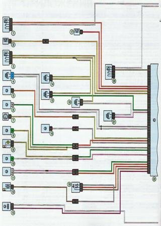 Electrical wiring diagrams for LADA Largus
