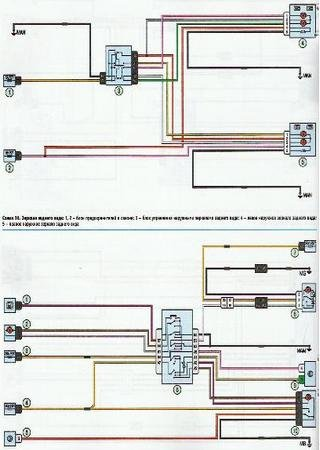 Electrical wiring diagrams for Renault Logan MCV