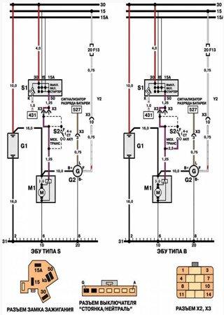 Schematy elektryczne Daewoo Cielo