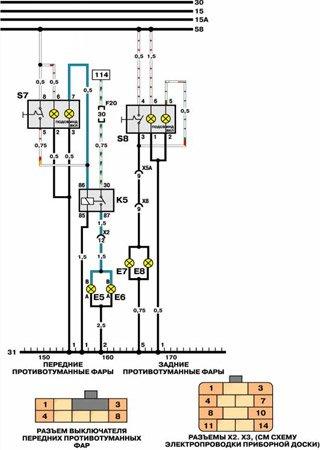 Schematy elektryczne Daewoo Pointer