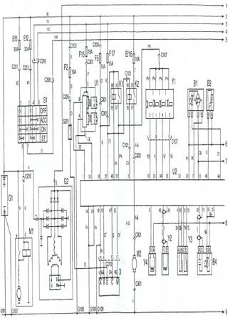 Electrical wiring diagrams for Daewoo Sens