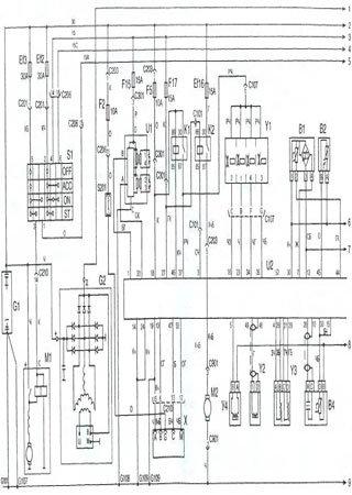 Schematy elektryczne Daewoo Sens