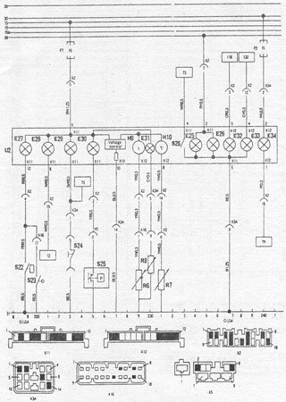 Electrical wiring diagrams for Daewoo Fino