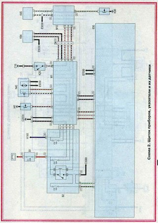 Electrical wiring diagrams for Fiat Punto Classic (Fiat Punto II)