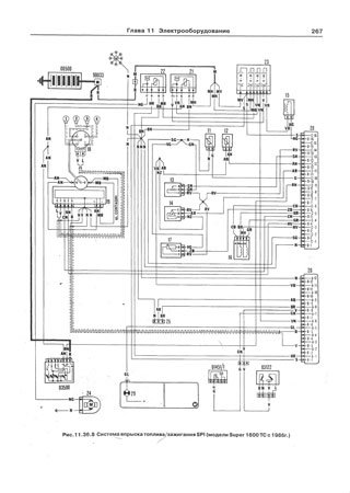 Electrical wiring diagrams for Fiat Regata