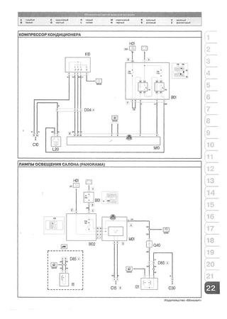 Electrical wiring diagrams for Fiat Doblo Work Up (Fiat Doblo II)