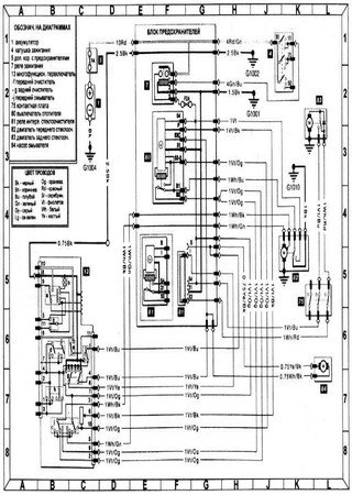 Электросхемы Volkswagen Logus