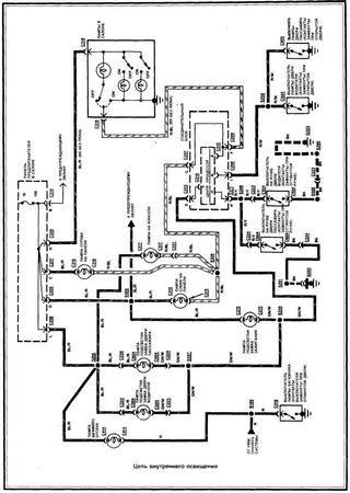 Электросхемы Ford Probe II
