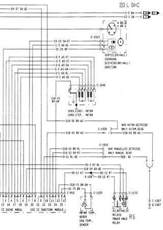 Schematy elektryczne Ford Scorpio II