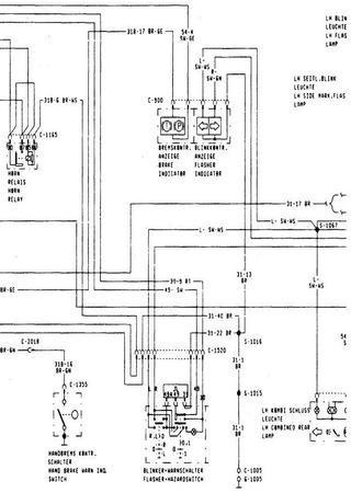 Schematy elektryczne Ford Granada Mark III