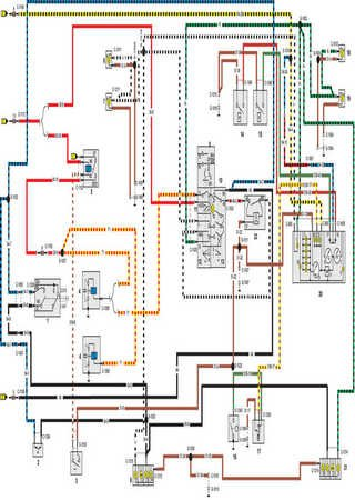 Schematy elektryczne Merkur XR4Ti