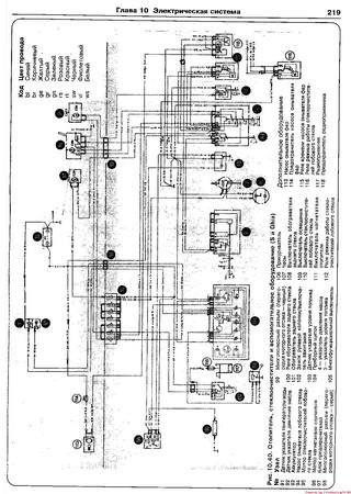 Electrical wiring diagrams for Ford Taunus TC3