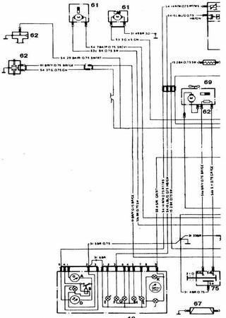 Schematy elektryczne Ford Consul (Ford Granada Mark I)