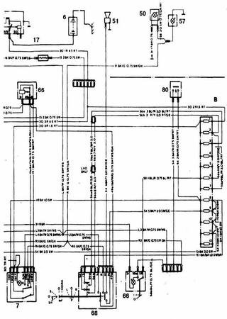Schematy elektryczne Ford Granada Mark II
