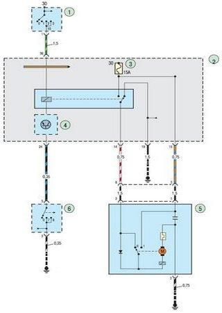 Schematy elektryczne Ford Focus C170 (Ford Focus 1)