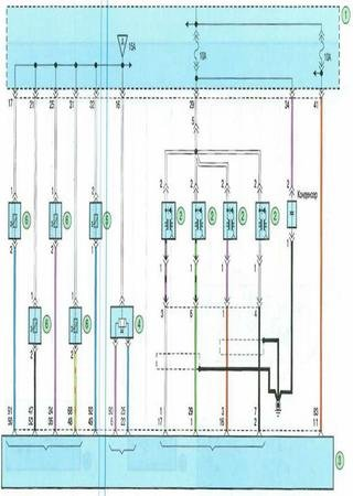 Electrical wiring diagrams for Horki 300EV