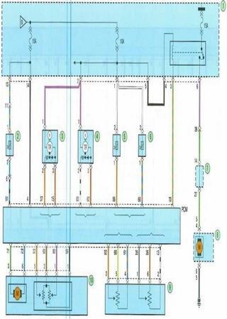Электросхемы Kia Cerato TD (Kia Cerato II)
