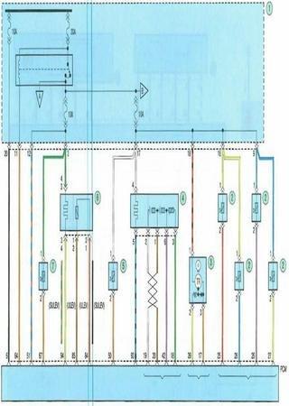 Электросхемы Kia Spectra5 (Kia Spectra II)