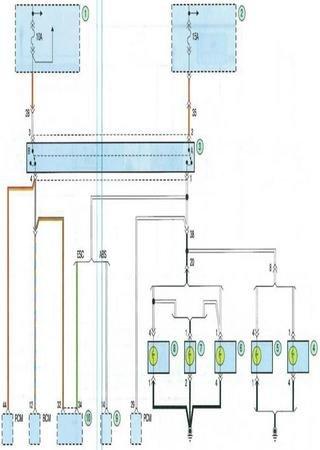 Электросхемы Kia Cerato YD (Kia Cerato III)