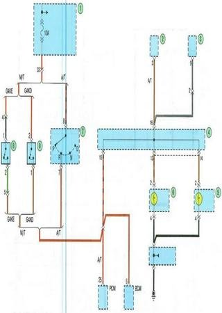 Электросхемы Kia Forte Furuidi (Kia Forte I)