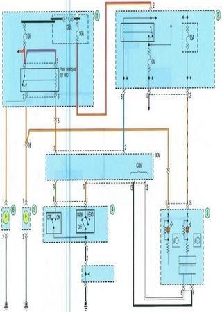 Schematy elektryczne Kia K3