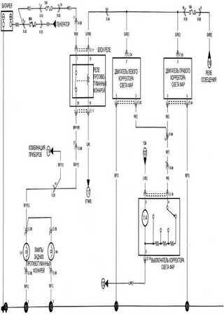 Электросхемы Kia Rio RX-V