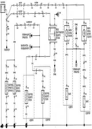 Electrical wiring diagrams for Kia Pride