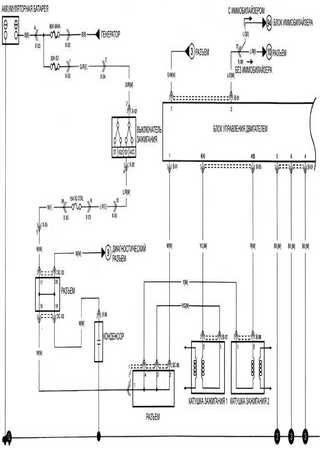 Electrical wiring diagrams for Kia K2