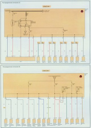Electrical wiring diagrams for Kia Optima LX (Kia Optima II)