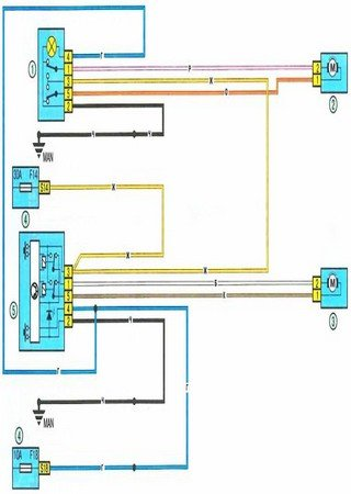 Electrical wiring diagrams for Renault Logan II