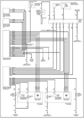 Electrical wiring diagrams for Audi A4 B6/8H (Audi A4 II)