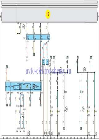 Electrical wiring diagrams for Audi A8 D2/4D (Audi A8 I)