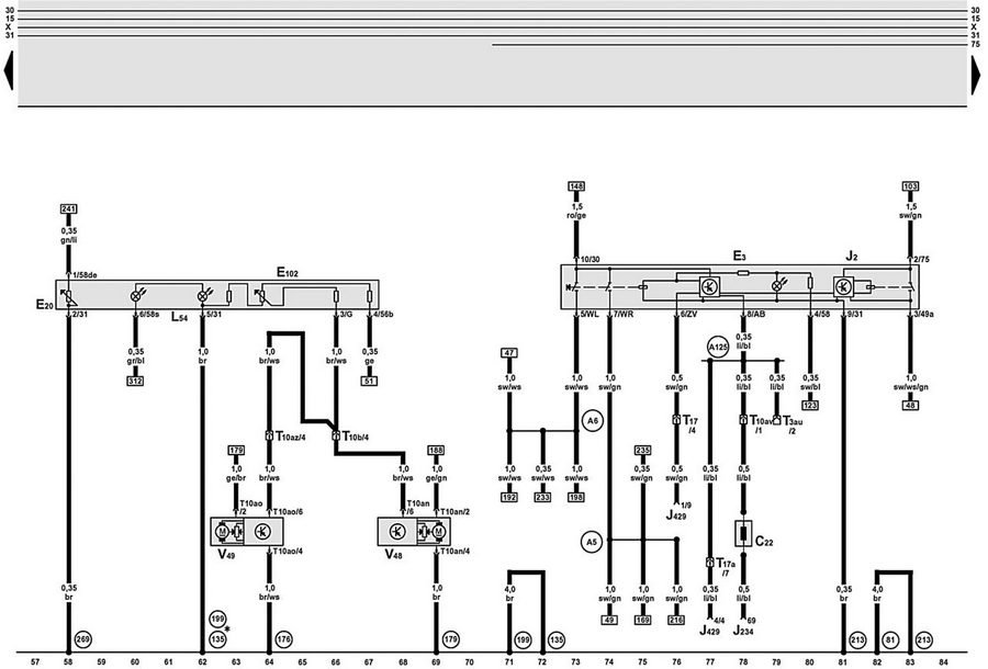Electrical Wiring Diagrams For Audi A6, Audi A6 Wiring Diagram