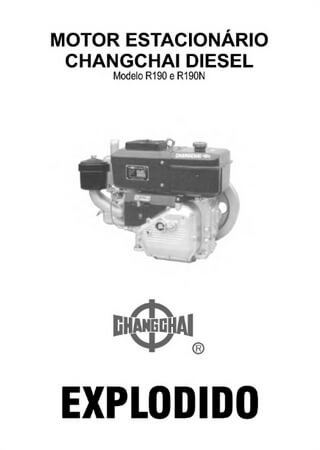 Spare parts catalogue for diesel engines Changchai R190 / R190N