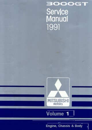 Owners manual for Mitsubishi 3000GT