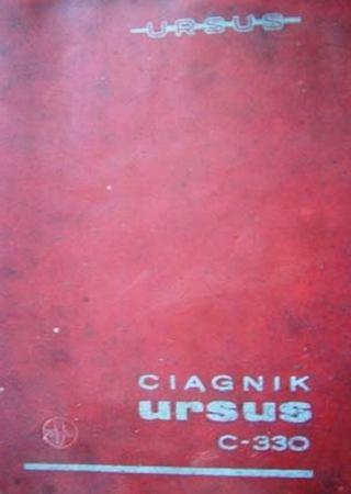 Руководство по эксплуатации и каталог запчастей трактора Ursus C-330