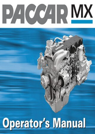 Руководство оператора двигателей DAF-Paccar MX (MX265, MX300, MX340, MX375)