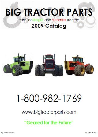 Каталог запчастей тракторов Versatile и Case Steiger (2008-2009)